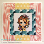 Flower Kaylee Digi Stamp, SomeOddGirl - 2