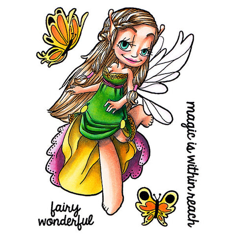 Flutter by Fairy Clear Stamp, SomeOddGirl - 1