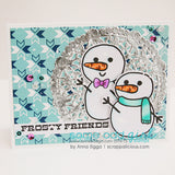 Build a Snowman Clear Stamp, SomeOddGirl - 6