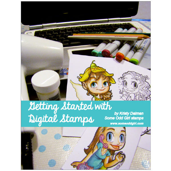 Getting Started with Digital Stamps ebook, SomeOddGirl
