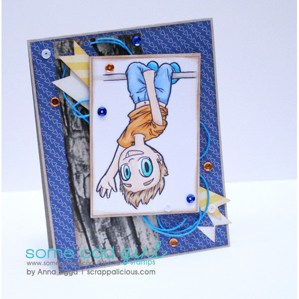 Hang Around Tobie Digi Stamp, SomeOddGirl - 2