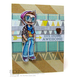 Hipster Kody Clear Stamp, SomeOddGirl - 2