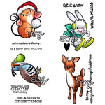 Holiday Minis Digi Stamp Set