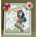 Hula Girl Mae Digi Stamp, SomeOddGirl - 5
