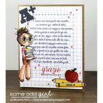 Library Mae Digi Stamp