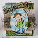 Fist Pump Tobie Digi Stamp