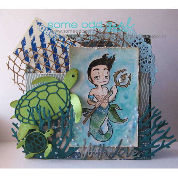 MerMan Kody Digi Stamp
