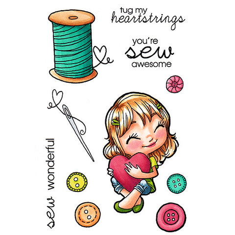 In Stitches Tia Clear Stamp, SomeOddGirl - 1