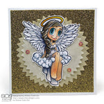 Angel Mae Digi Stamp, SomeOddGirl - 2