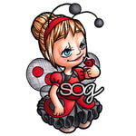 Lady Bug Tia Digi Stamp, SomeOddGirl