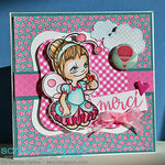 Lady Bug Tia Digi Stamp