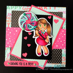 Lollipop Tia Digi Stamp
