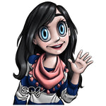 "Black Hair ""Mae"" Avatar"