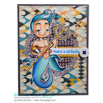 MerMan Kody Digi Stamp, SomeOddGirl - 2