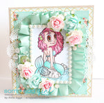 Mermaid Piper Digi Stamp, SomeOddGirl - 3