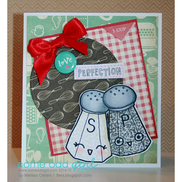 Mr Pepper and Mrs Salt Digi Stamp, SomeOddGirl - 3