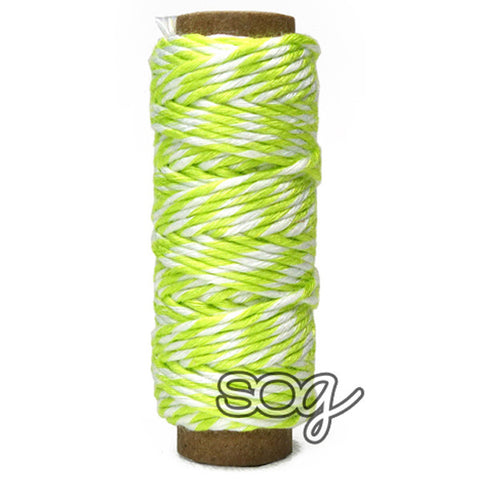 Neon Yellow Bamboo Bakers Twine, SomeOddGirl