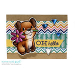 Puppy Love Digi Stamp, SomeOddGirl - 2