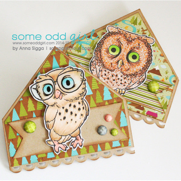Tired Owl Digi Stamp, SomeOddGirl - 4