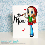 Painter Mae Digi Stamp, SomeOddGirl - 3