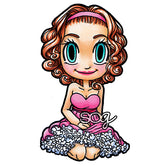 Party Girl Gwen Digi Stamp