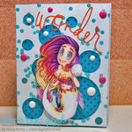 Pearl Mermaid Digi Stamp, SomeOddGirl - 4