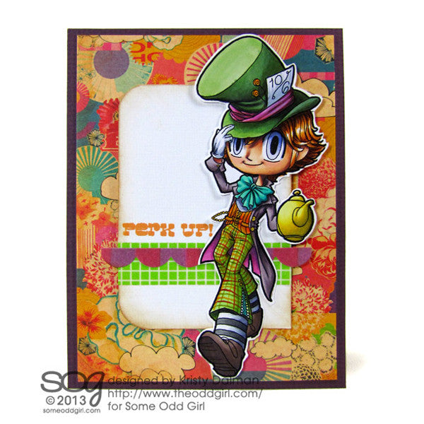 Mad Hatter Kody Digi Stamp, SomeOddGirl - 2