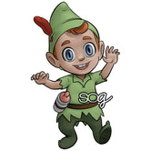 Peter Pan Baby Digi Stamp