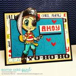 Pirate Tobie Digi Stamp, SomeOddGirl - 2