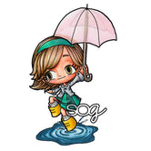 Puddle Hopping Tia Digi Stamp