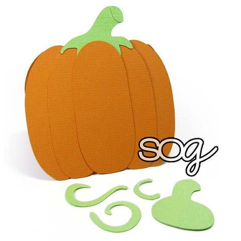 Cut File: Pumpkin Cardbase, SomeOddGirl