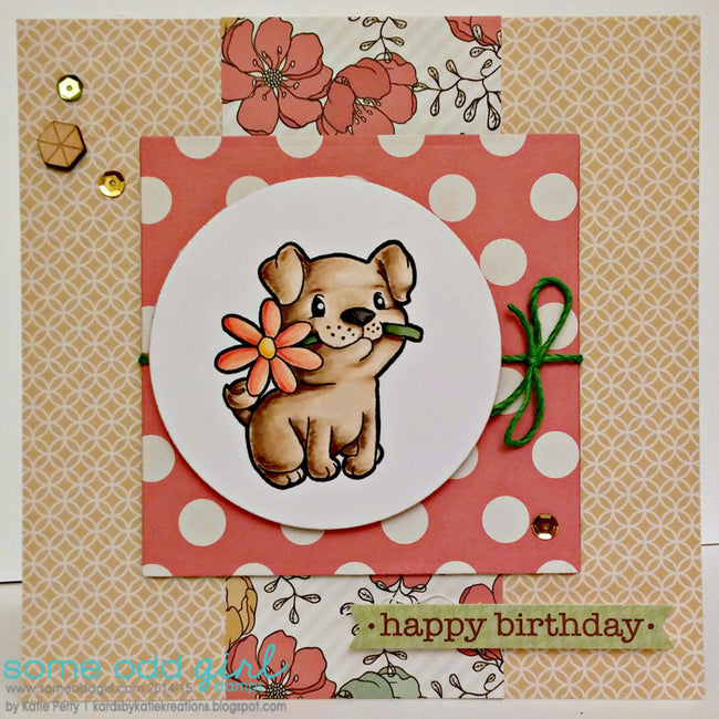 Puppy Love Digi Stamp, SomeOddGirl - 3