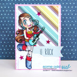 Rocker Mae Digi Stamp, SomeOddGirl - 4