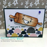 Rolling Pin Digi Stamp, SomeOddGirl - 2