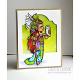 Forest Goddess Digi Stamp, SomeOddGirl - 2