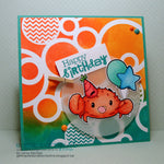 Party Crab Digi Stamp, SomeOddGirl - 2