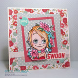 Flower Kaylee Digi Stamp, SomeOddGirl - 5