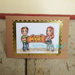 Banner Buddies Digi Stamp set