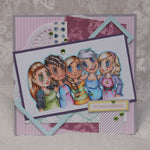 Girlfriends Digi Stamp