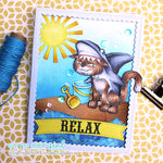 Shark Cat Digi Stamp, SomeOddGirl - 2
