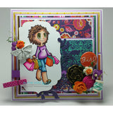 Shopping Piper Digi Stamp, SomeOddGirl - 2