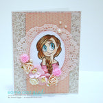 Sweet Mae Digi Stamp, SomeOddGirl - 3