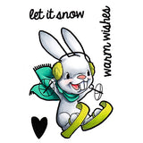 Snow Bunny Clear Stamp, SomeOddGirl - 1