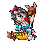 Snow White Digi Stamp