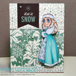 Snow Queen Piper Digi Stamp, SomeOddGirl - 2