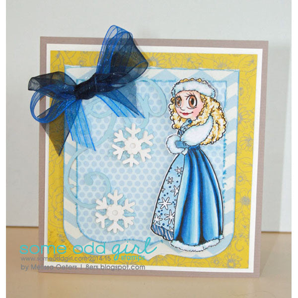 Snow Queen Piper Digi Stamp, SomeOddGirl - 3