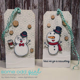 Build a Snowman Clear Stamp, SomeOddGirl - 7