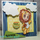 Lion Tobie Digi Stamp, SomeOddGirl - 5