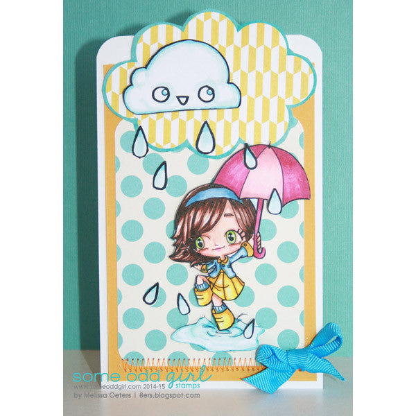Puddle Hopping Tia Digi Stamp, SomeOddGirl - 2