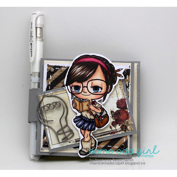 Bookish Tia Digi Stamp, SomeOddGirl - 2